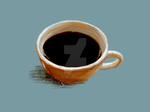 Cup of coffee by Absalem