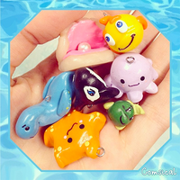 Sealife Clay Charms by Comsical