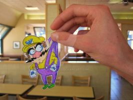 Wario :Paper Child: by Yuffie1972