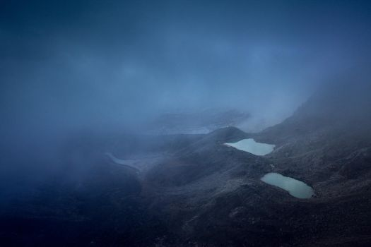 through the clouds by Katoman