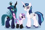 Nightmare Night Group Costume by Arrkhal