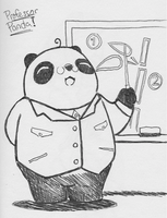 Sketch This 11/5 - Professor Panda! by tk36477