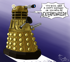 Be Happy or Be EXTERMINATED!! by EarthGwee