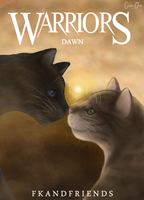 Warriors: Dawn Book Cover by CeruleanOasis