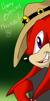 HAPPY BDAY KNUX :2011: by SassCannon