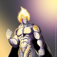 Armourless SSJ Cell by darkly-shaded-shadow