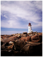 peggy's cove by ashtongrant