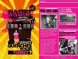 Oasis Youth concert by graphikj