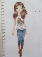 Miranda cosgrove (icarly) in topmodel book by expectatinqs