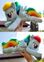 Flying Rainbow Dash 4/4 (sold) by Sethaa