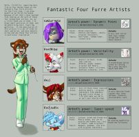 Fantastic Four by nillia