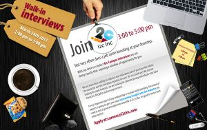 i2c HR hiring poster for FAST by wasimshahzad
