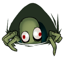 Salad Fingers in my gallery by Cageyshick05