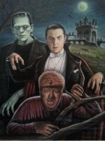 Universal Monsters by casey62