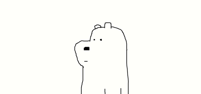 Ice Bear by Simpsonsfanatic33