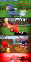 Sonic.png (Hyper Realism Warning.) by QuestMark