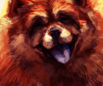 Chow Chow by TamberElla
