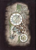 Fantasy Clock by Cyb007