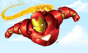Iron Man by DaCommissioner