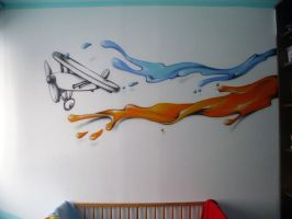 my son's room_4aero_2013 by aniaart