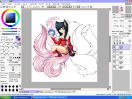 Ahri, no ahri ! by RainbowSh0ck