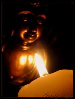 Give Light To Buddha by HLea33