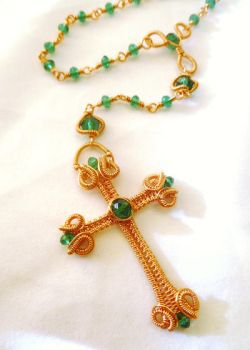 Wire Wrapped Rosary Tutorial by CoparAingeal