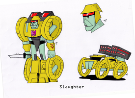 SLAUGHTER by JohnnyFive81