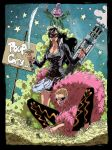 Doflamingo, Baby 5 and Tchacha Oulaop Style by PikoloZ-Dreamin