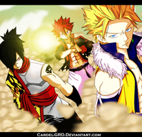 The Three Dragons - Fairy Tail 405 by Cardel-GRD