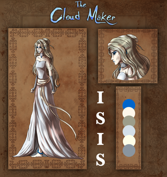 The Cloud Maker: Isis Reference by LivingAliveCreator