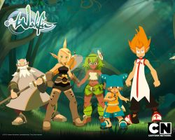 Wakfu characters by tf2playerooooo
