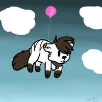 Soon I'll fly higher than the clouds by BlackBloodedKitten