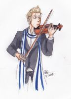 APH Netherlands, violin by AnnHolland