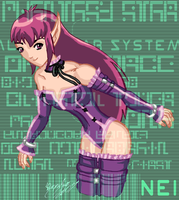 Nei - Phantasy Star II by UltimeciaFFB