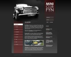 Webdesign - MCF by Noergaard