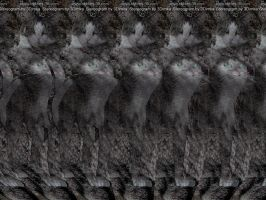 Kitty Stereogram by 3Dimka