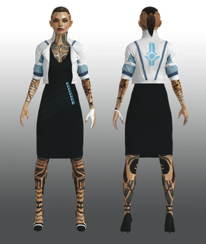 Jack dress update by Nightfable