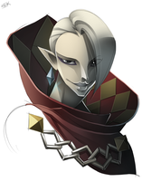 Ghirahim by WhiteFoxCub
