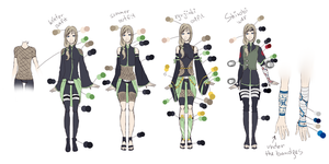Anri's outfits by Marta-Bit