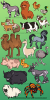 Country Culture Animals by AddictionHalfWay