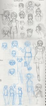 SketchDump002 by PrismWings
