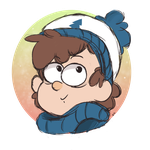 Dipper Christmas icon (1/3) by DippinDot-Doodles