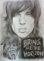 Oli Sykes Bring Me The Horizon BMTH by tizwoz5