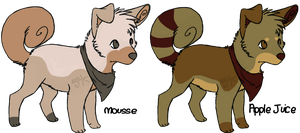 Wolf/Dog Point Adopts by WhiteWolfCub16
