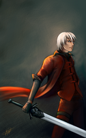 Dante by Lomendeon