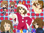 Yui Hirasawa collage by bombsack132