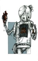 Heart-stealing Robot by teriathanin