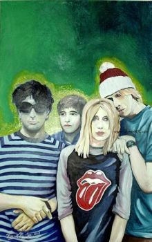 'Portrait of Sonic Youth' by 3xtremeNYC