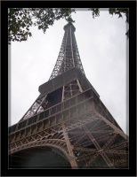 Eiffel tower - 1 by J-Y-M